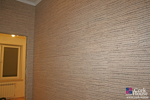 панели для стен из пробки фото