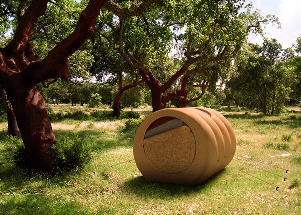 Палатка-бочка Tree House