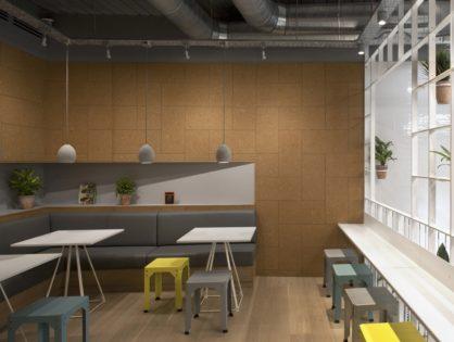 Лондонское кафе Olive + Squash.