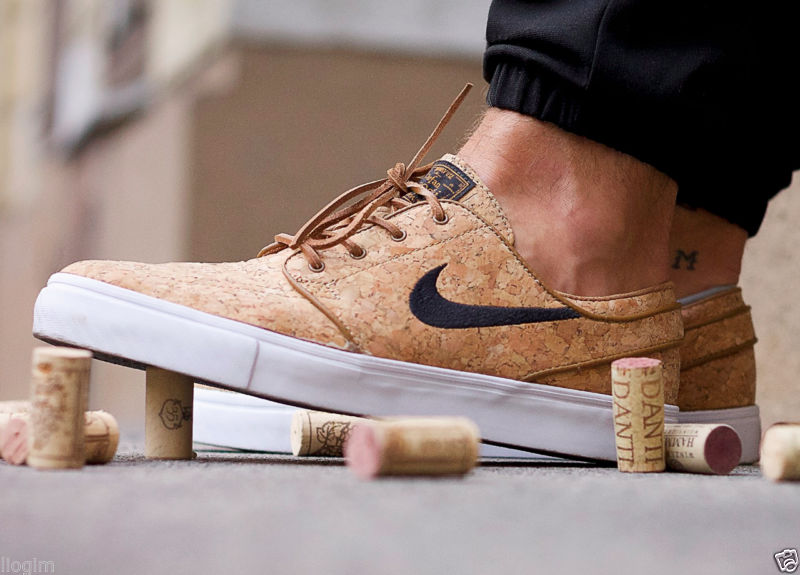 """Кроссовки для скейтбординга  Nike SB Zoom  Stefan Janoski Elite """"Cork"""""""